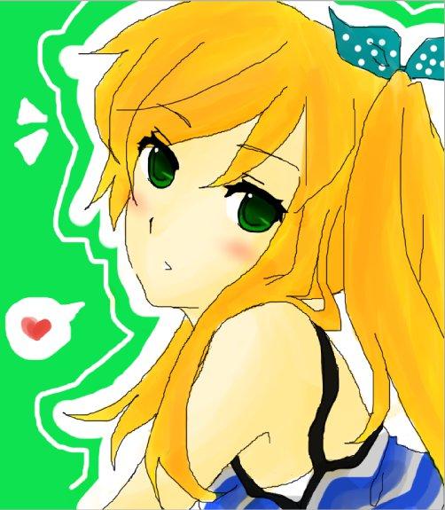 Random girl that looks just reminds me of Neru by ILenrequestsomeshota
