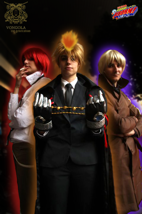 1st Generation Cosplay (Giotto, G, Alaude) 1st_generation_guardians_by_akinomy-d322p6c