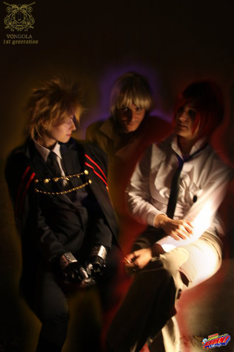 1st Generation Cosplay (Giotto, G, Alaude) Alaude_interuption_by_akinomy-d32a4lf