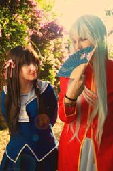 Tohru and Ayame by Akinomy