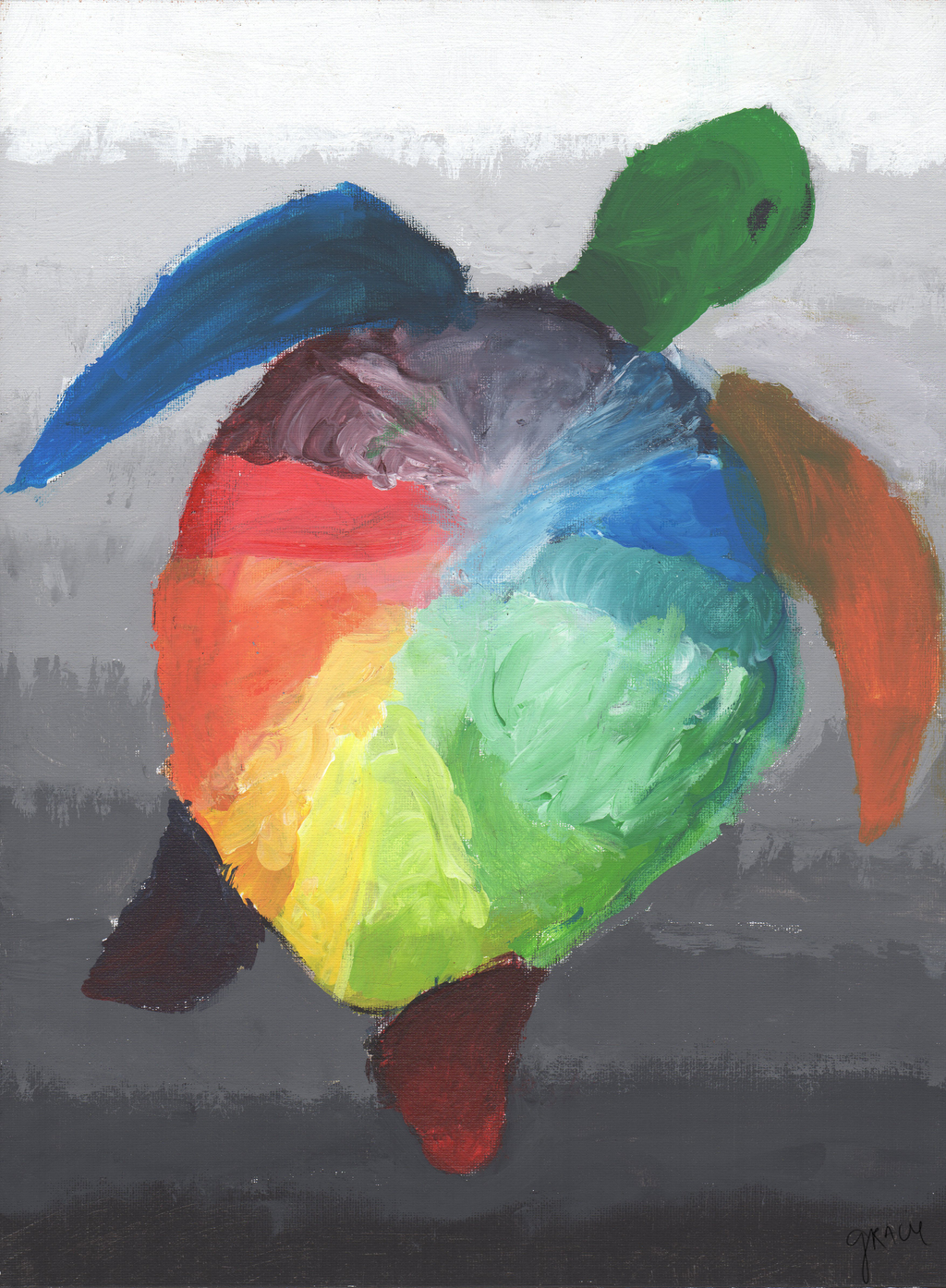 color turtle by chii bear on deviantart