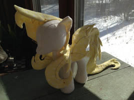 Feral Bat Pony Mane and Tail (and Wings) Test