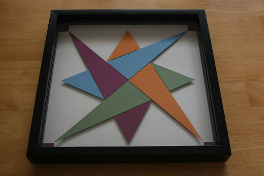 Quilt Block Shadowbox