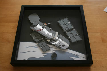 Hubble Space Telescope Shadowbox