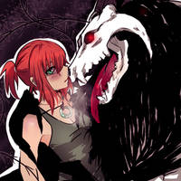 The Ancient Magus and his Bride by Roselinath