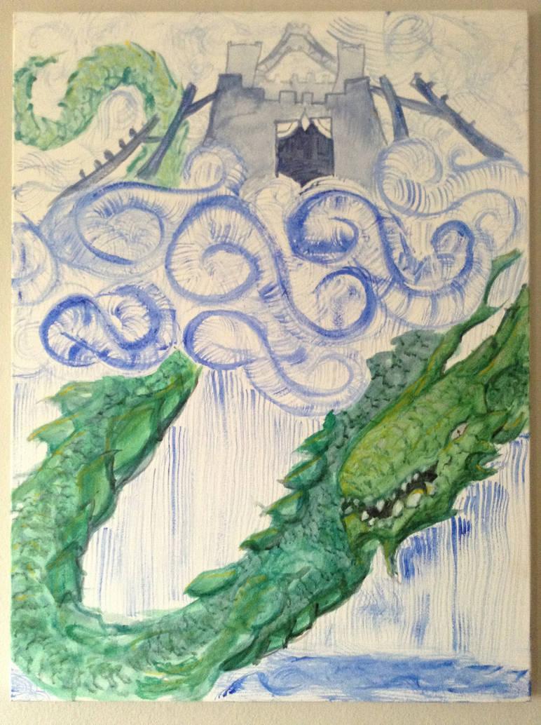 Rain Dragon by Drachis