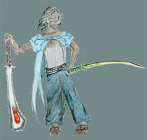 The Swordsman by Drachis