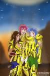 Together - Saint Seiya OCs (Capricorn Virgo Aries)