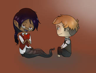 31 Day Challenge - Day 25 Naveen and Klaus by bluebuterflyef