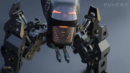 Vulcan infantry mech #6