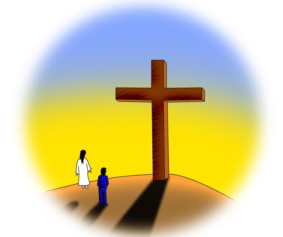 Me, My Best Friend And An Empty Cross by leonardosdream on ... Empty Cross Painting
