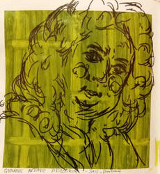 Drawing from the National Portrait Gallery