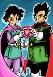Power Couple by KaboomKrusader