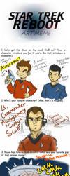Star Trek Reboot Meme by KaboomKrusader