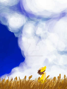 Generic Clouds Over Generic Wheat Field