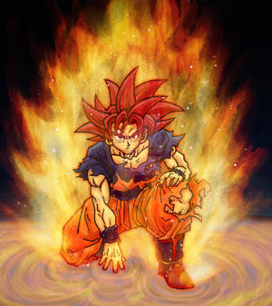 Divine Wrath - Super Saiyan God