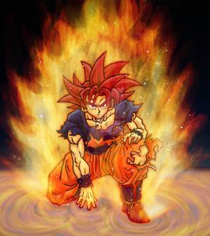 Divine Wrath - Super Saiyan God
