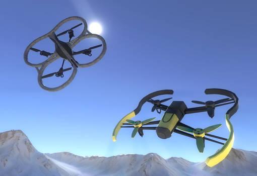 Quadrocopters