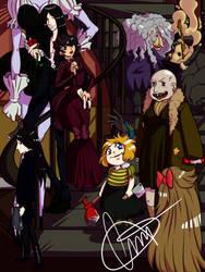 The Addams Family (genderbend) by CMVM