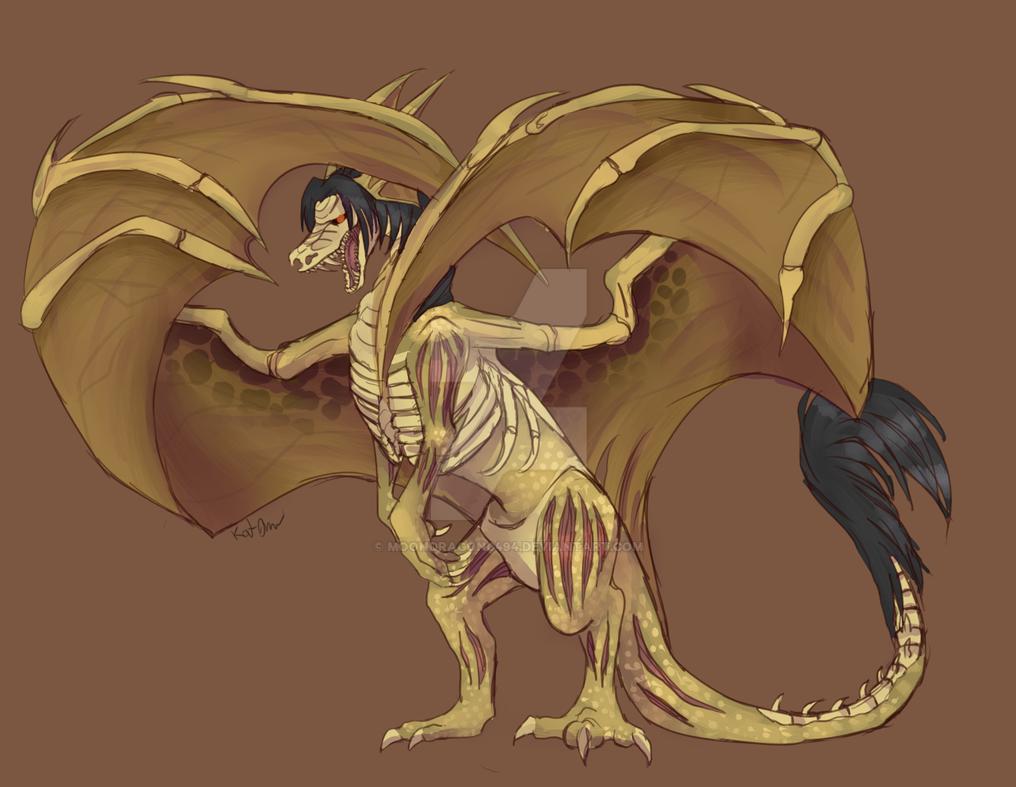 Raziel Dragon by Moondragon0494