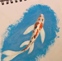Koi Fish by Rainiila
