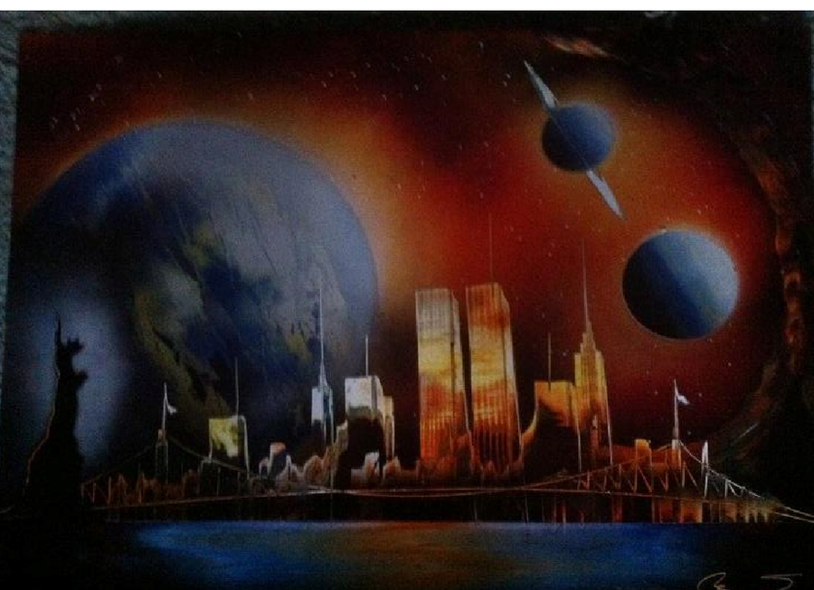 Nyc Spray Paint Art By Xiloveinuyashax On Deviantart