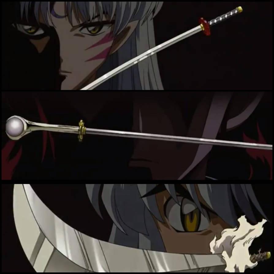 Inuyasha Swords By Xiloveinuyashax On Deviantart