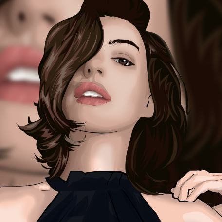 Anne Hathaway by TheBadWolf-13