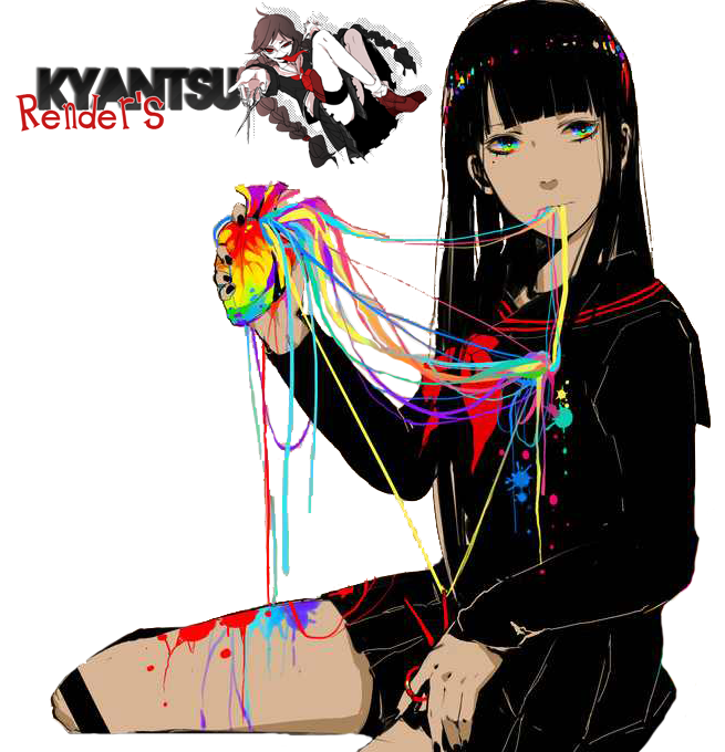 80 Renders Mangas Amour/Amitié Anime_girl__render_3__by_kyantsu-d6m1xis