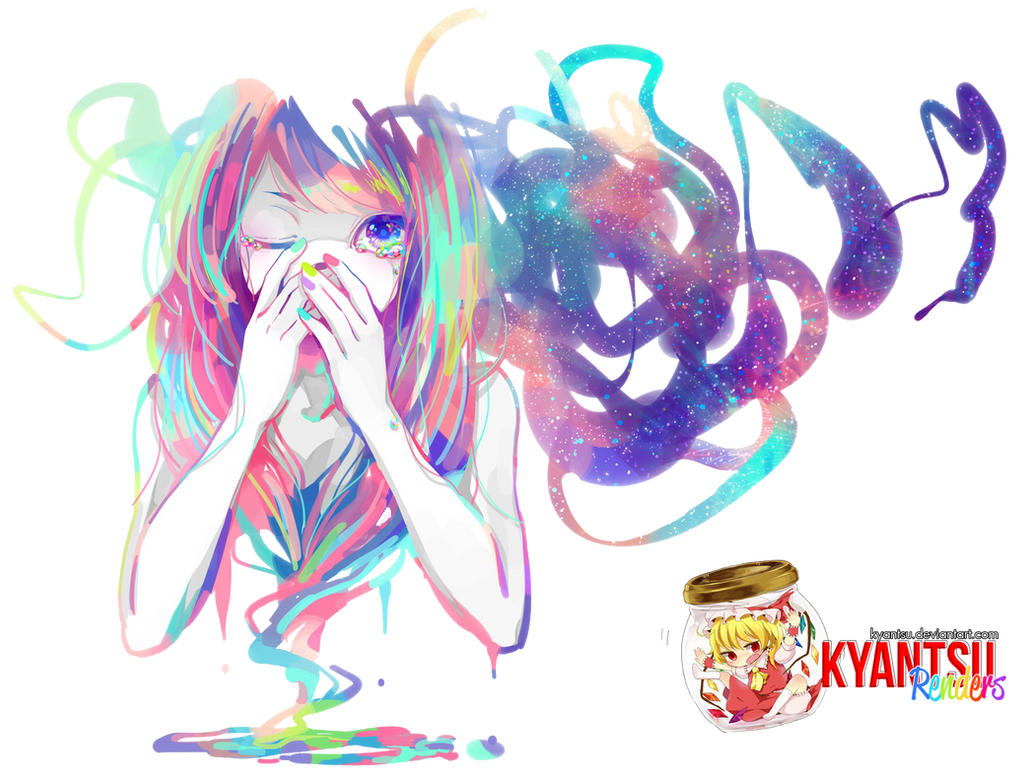 Anime Girl [Render 4] by Kyantsu