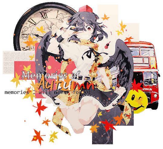 Memories of Autumn [Shameimaru Aya] by Kyantsu