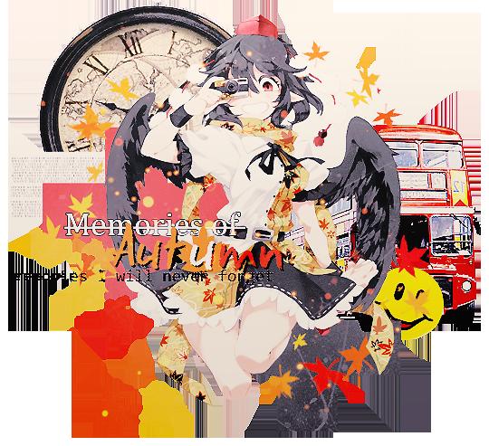 Memories of Autumn [Shameimaru Aya] by Kyantsu