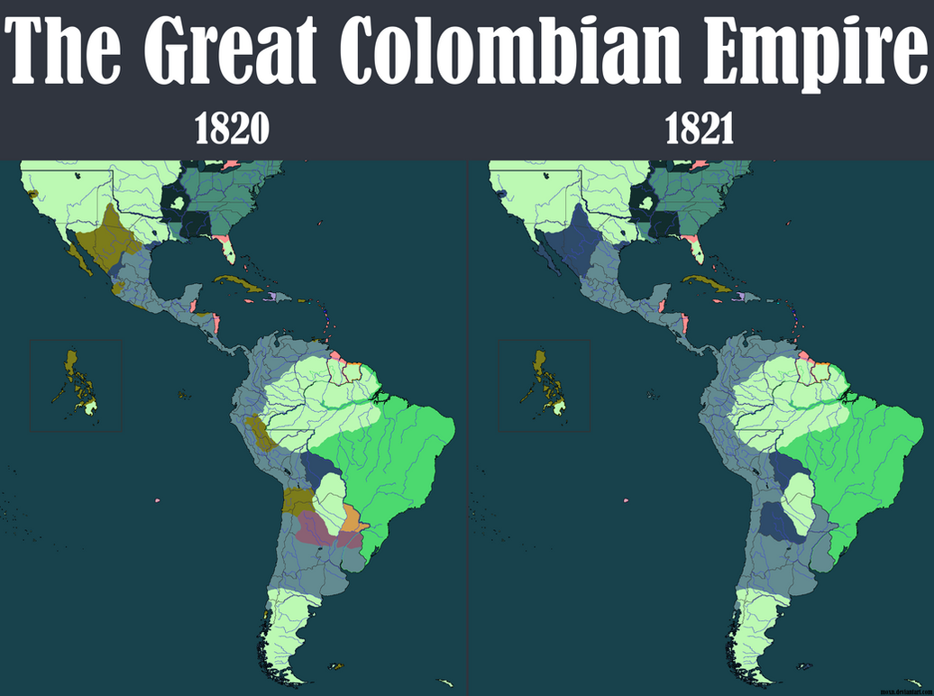 The Great Colombian Empire by moxn