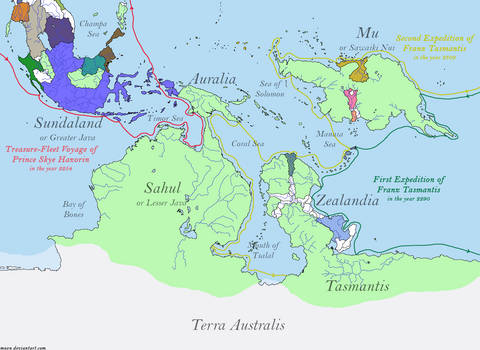 Early Imperial Exploration of Oceania