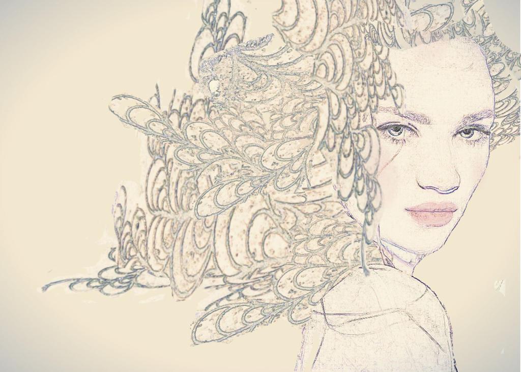 Girl Water1 by JuliaMJensen