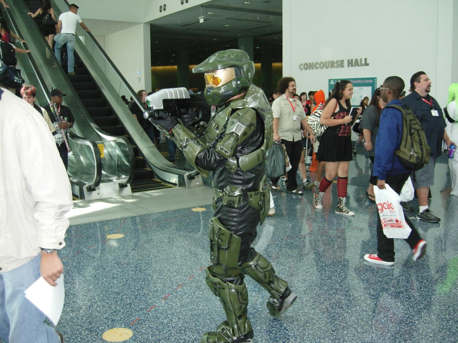 Master Chief Cosplay by Peepsicle