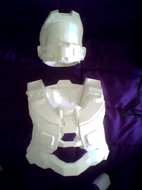 Halo 4 Master Chief Armor build WIP P2 by toby251 on DeviantArt