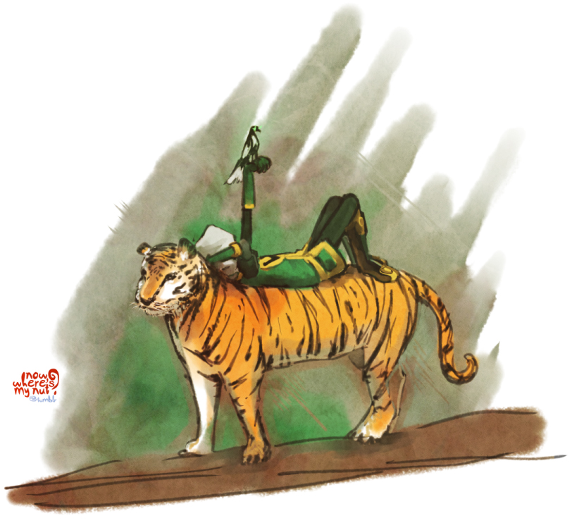 Marvel: JiM - tiger by nowwheresmynut