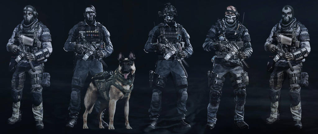 Call of Duty Ghost Character Call of Duty Ghost Characters