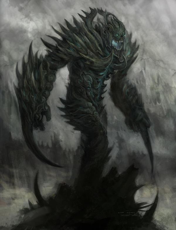 Kuntimong -Demon Lord by Gandharvasstudio