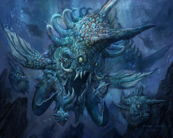 Sarengkamas - The Great Fish by Gandharvasstudio