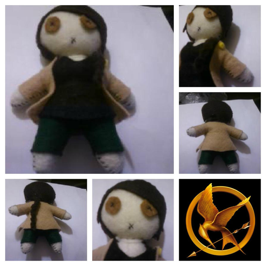 Katniss Everdeen by dei-saso-me