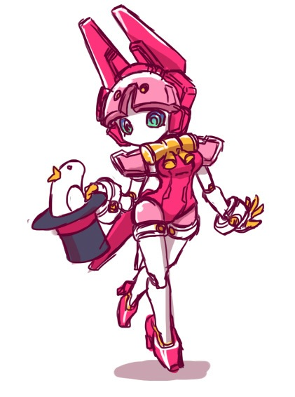 Medabot magic by jessi193