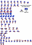 Sonic Before The Sequel Beta Sprite Sheet