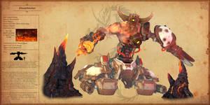 The Saga of Spyro Bestiary - Demon, Doomhunter