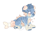 Chubby fish PupPoppy Adopt (Closed) by HimeSara84