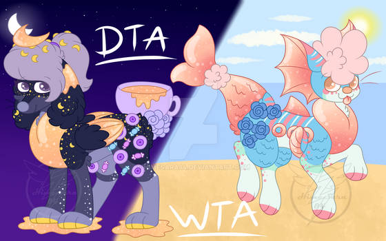 Night (DTA) and Day (WTA) PupPoppy adopts (Closed)