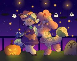 Halloween chams