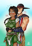 Kung Lao and Jade Surprise by frost-747