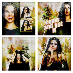 Selena Gomez | Big Icon Set by rudimentarily